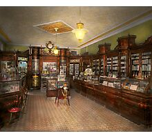 Pharmacy - Weller's Pharmacy 1915 Photographic Print