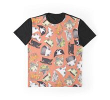 """Oro?"" Halloween Orange Graphic T-Shirt"