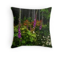 Life In The Woods Throw Pillow
