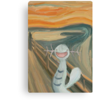 Wooper's Scream Canvas Print