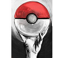 The Glass Pokeball Photographic Print