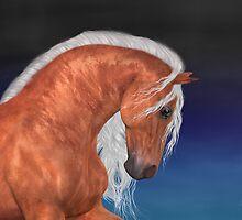 Apollo .. Golden Stallion by LoneAngel