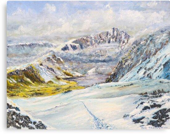 Winter on Cader Idris by Joe Trodden
