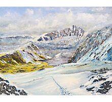 Winter on Cader Idris Photographic Print