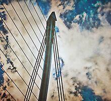 Samuel Beckett Bridge by Denise Abé