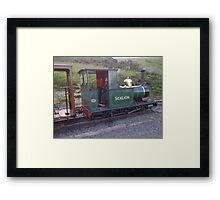 Groudle Glen Steam Railway Isle of Man Framed Print