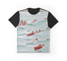 TL at Lorne collage (large version) Graphic T-Shirt