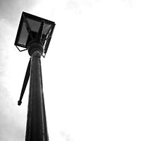 B&W Lamppost — London, UK by sggurcsyllek