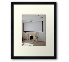 Home Cinema Framed Print