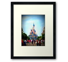 Disneyland Castle Framed Print
