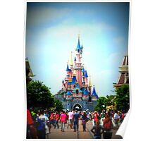 Disneyland Castle Poster