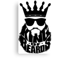 King Of Beards Canvas Print
