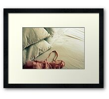Bed Clothes Framed Print
