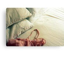 Bed Clothes Metal Print