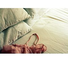 Bed Clothes Photographic Print