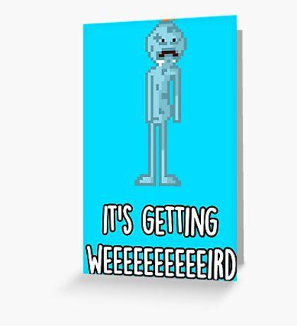 Mr. Meeseeks Greeting Card