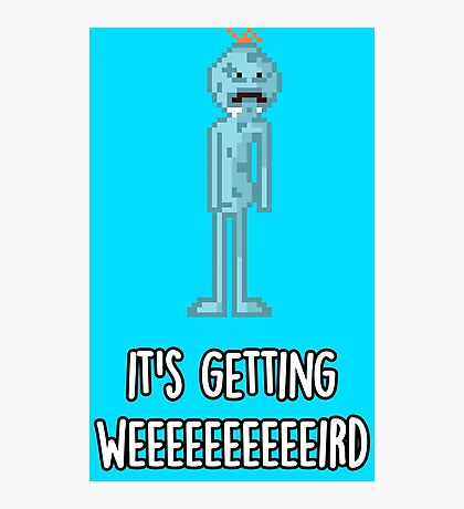 Mr. Meeseeks Photographic Print