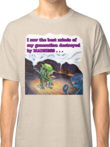 Beatnik Cthulhu Classic T-Shirt
