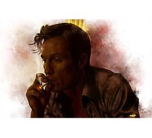 True Detective - Rust Cohle Photographic Print