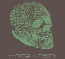 Rhite Trash Skull Tee T-Shirt