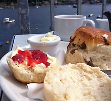 Cream Tea on the Terrace by Erin Mason