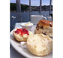 Cream Tea on the Terrace Photographic Print