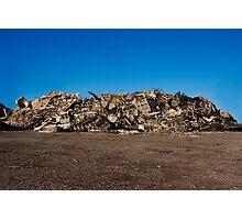 Rubbish Mountain Photographic Print