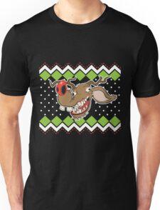 Ugly Reindeer ugly Christmas Sweater Unisex T-Shirt