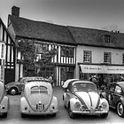 VW Beetles, Lavenham, Suffolk by TeresaMiddleton
