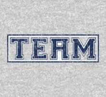The 'i' in Team (distressed) One Piece - Long Sleeve