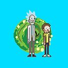 Rick & Morty by Cosmodious