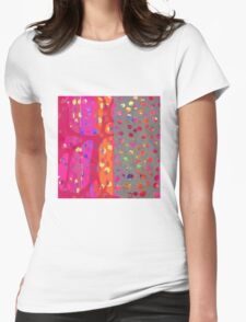 Falling Together 7 Womens Fitted T-Shirt