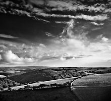 View over Exmoor by Dorit Fuhg
