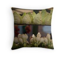 Cabbages & Onions at the Rialto Market Throw Pillow