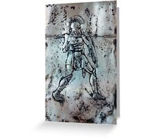 Greek Hoplite c.480BC Greeting Card