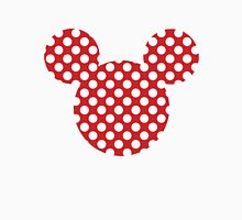 Mouse Silhouette Polka Dot Spotty Motif T-Shirt