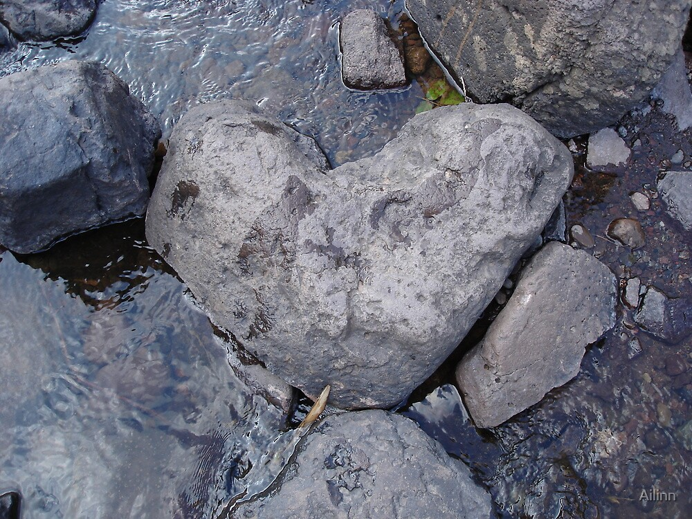Heart of Water & Stone by Ailinn