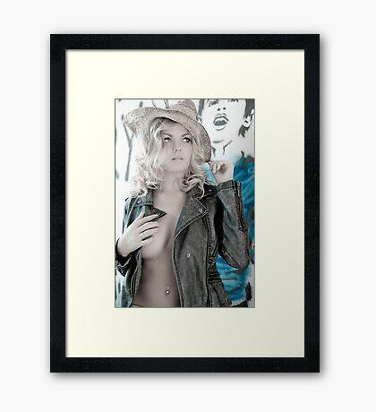 blues Framed Print