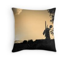 Windmill - untitled Throw Pillow