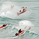 IRB racing at Lorne by Andy Berry