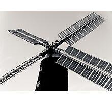 Windmill Blades. Photographic Print