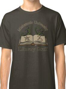 Cthulhu Tee Miskatonic U. Library Staff Classic T-Shirt