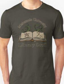Cthulhu Tee Miskatonic U. Library Staff Unisex T-Shirt