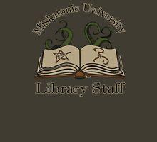 Cthulhu Tee Miskatonic U. Library Staff T-Shirt