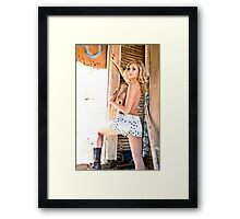 at best Framed Print