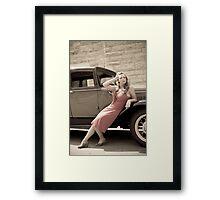 hexmark Framed Print