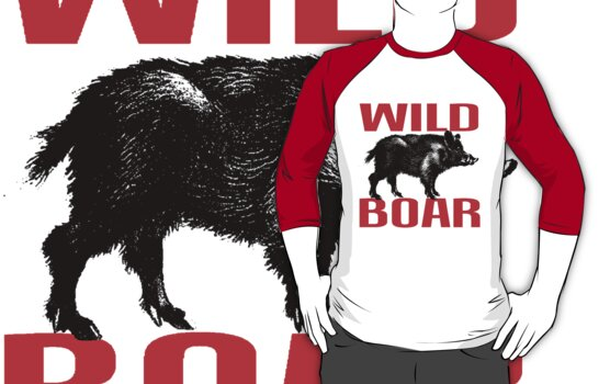 WILD BOAR by OTIS PORRITT