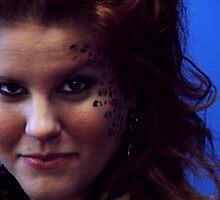 Leopard Makeup by thebaum
