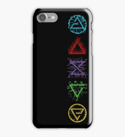 Witcher Signs iPhone Case/Skin