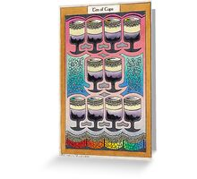 Ten of Cups Greeting Card